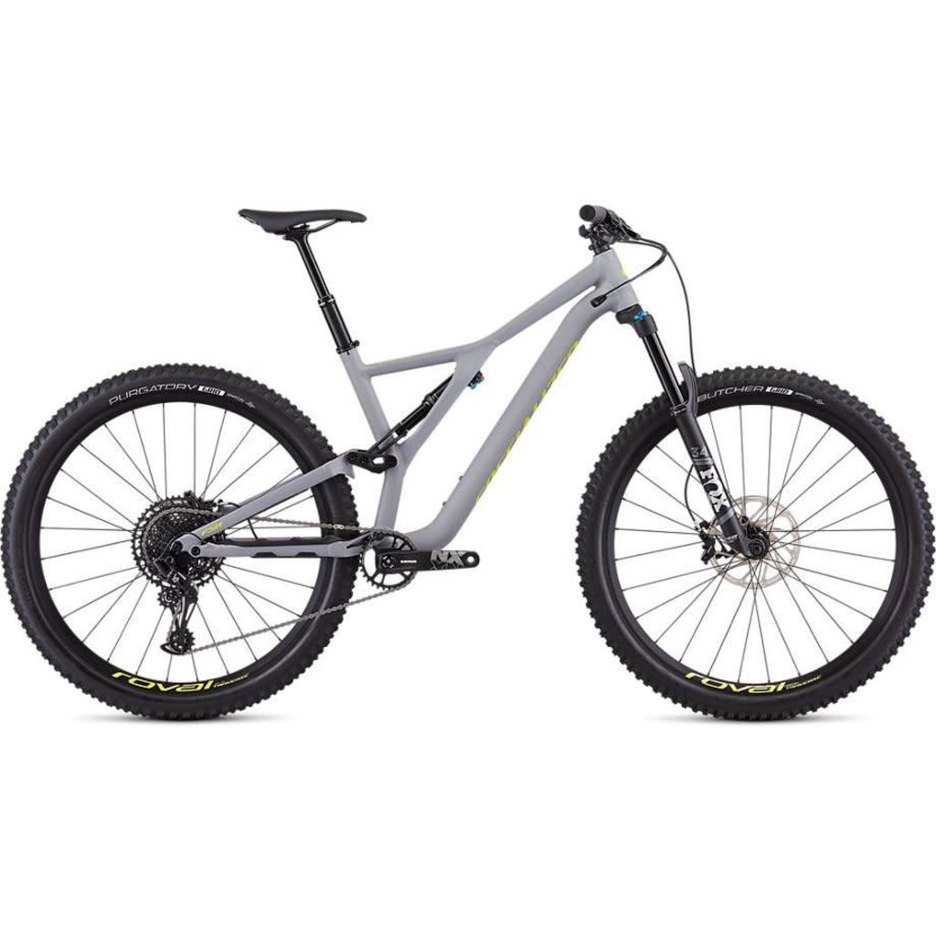 Specialized 2019 Specialized Stumpjumper Comp, 29, Gray/Yellow - Large