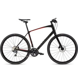 Specialized 2019 Specialized Sirrus Pro Carbon, Black/Red - Large