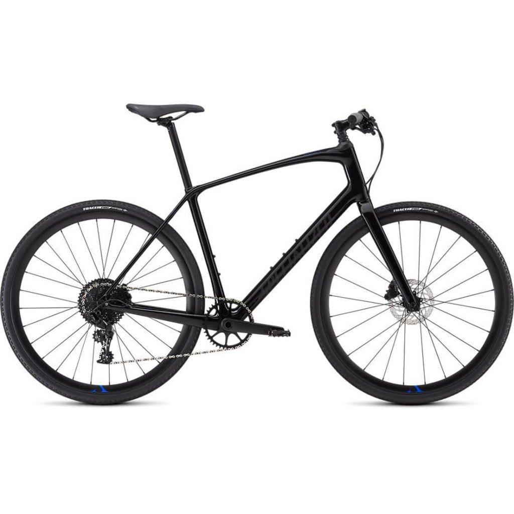 Specialized 2019 Specialized Sirrus Comp Carbon, Black/Blue - Medium