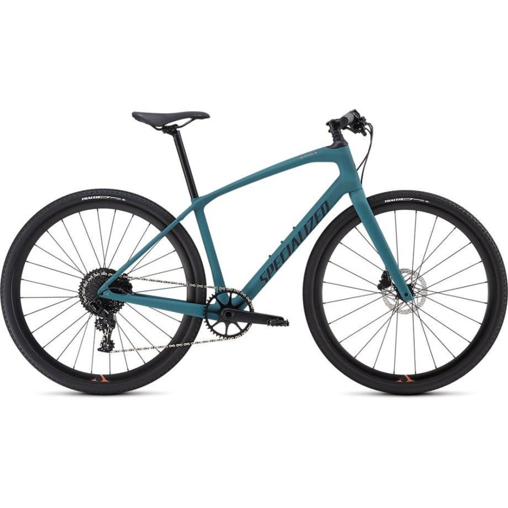 Specialized 2019 Specialized Sirrus Comp Carbon, Turquoise/Black - Small