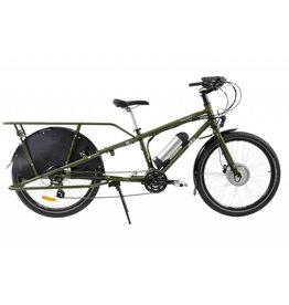 Yuba Bicycles LLC Yuba Mundo V5, Stand Over, 750w, Olive