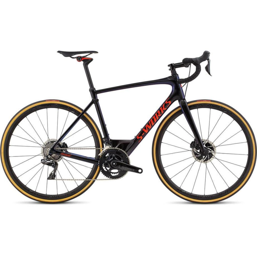 Specialized 2018 Specialized S-Works Roubaix Di2, Black/Red - 56cm