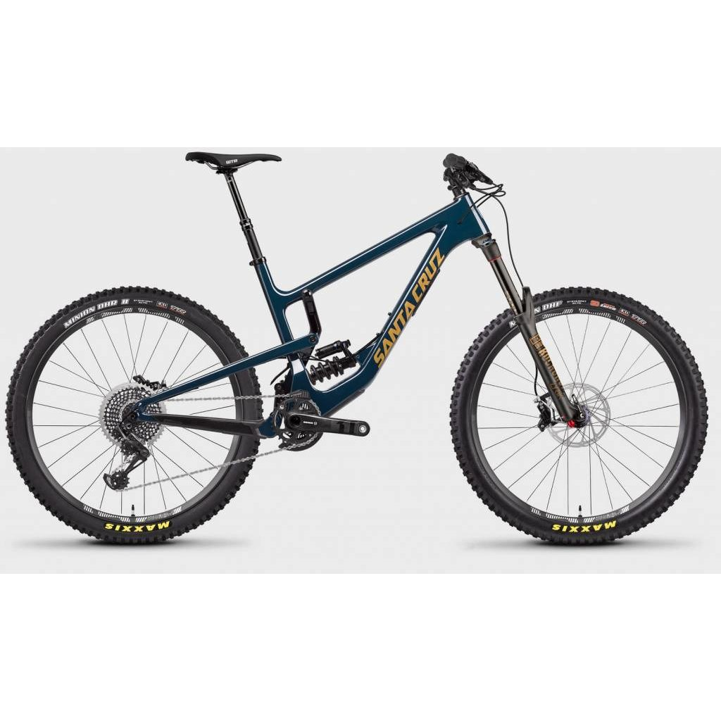 SANTA CRUZ  BICYCLES 2018 Santa Cruz Nomad 4 CC, Coil, 27.5, XO1, Blue - Large