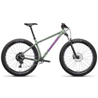 Santa Cruz Bicycles 2018 Santa Cruz Chameleon, 27.5, R Kit, Green - Large