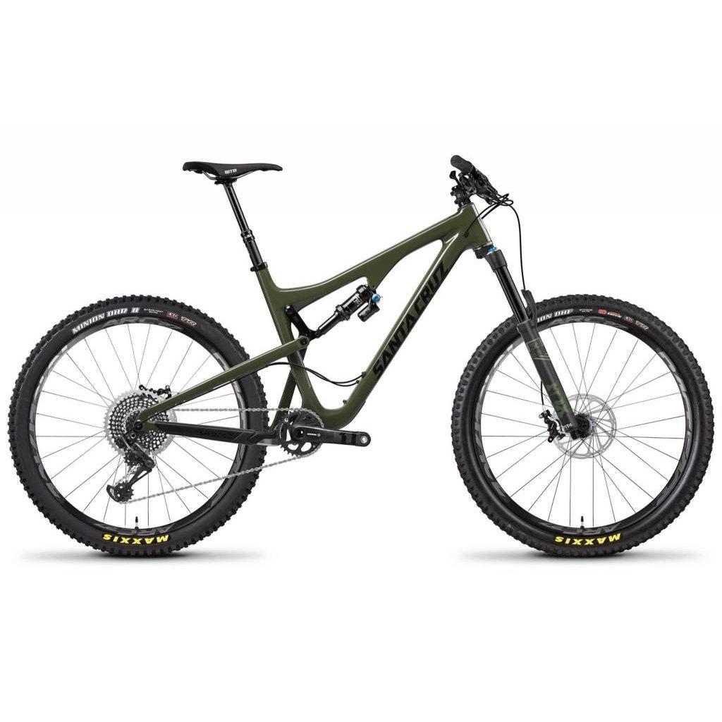 Santa Cruz Bicycles 2018 Santa Cruz Bronson CC, 27.5, XO1, Green - Large