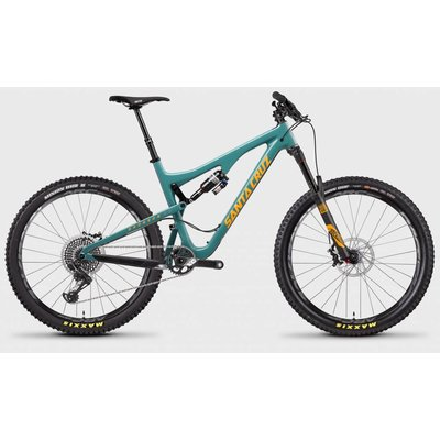 Santa Cruz Bicycles 2017 Santa Cruz Bronson CC, 27.5, XO1, Blue/Orange - Large