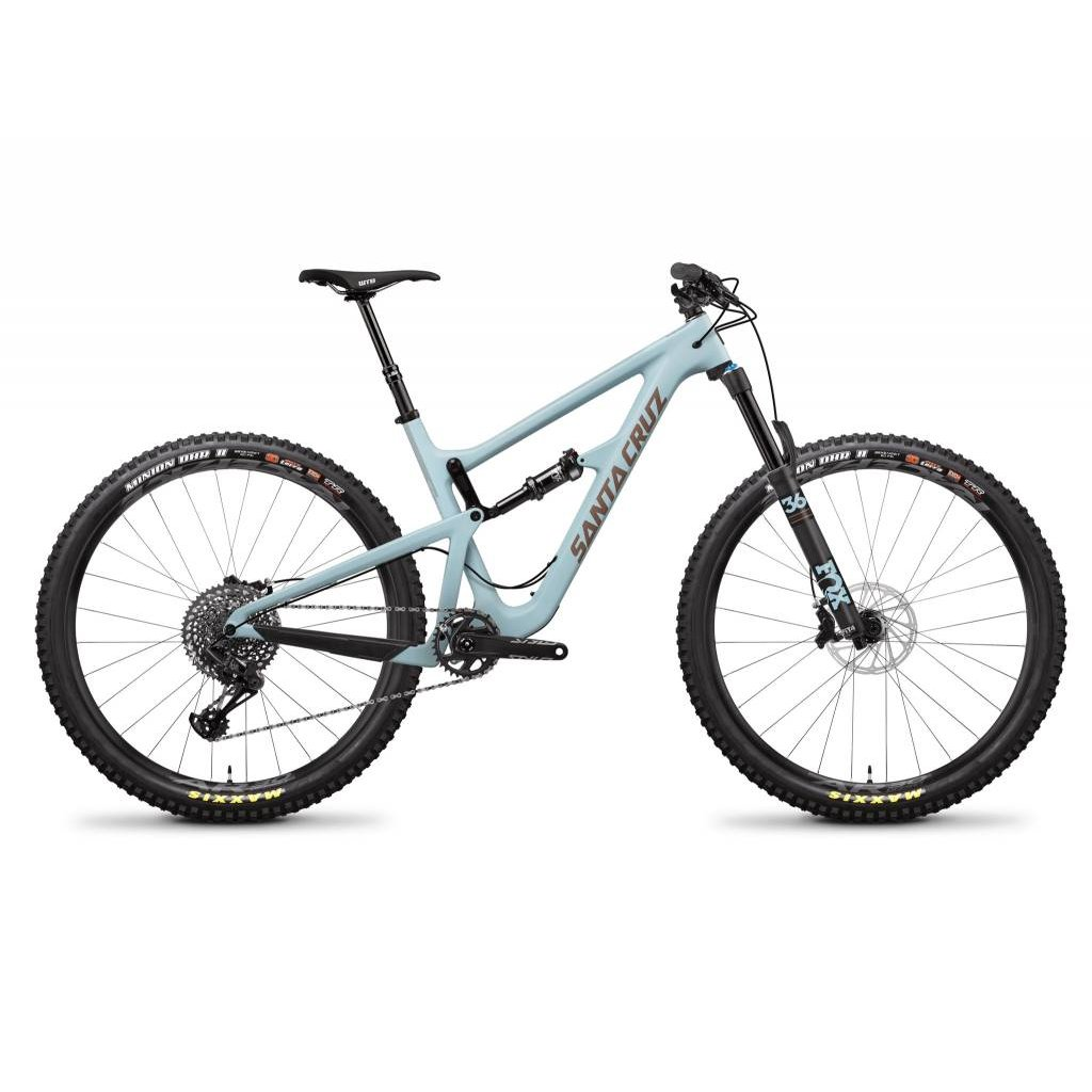 SANTA CRUZ  BICYCLES 2019 Santa Cruz Hightower LT C, 29, S Kit, Cyan - Medium