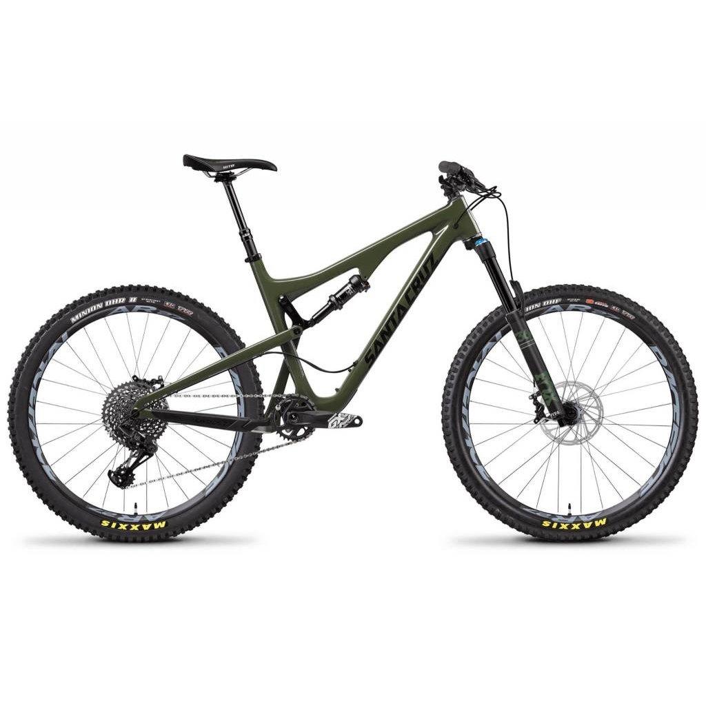 SANTA CRUZ  BICYCLES 2018 Santa Cruz Bronson C, 27.5, S Kit, Black/Olive - Small