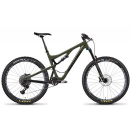 Santa Cruz Bicycles 2018 Santa Cruz Bronson C, 27.5, S Kit, Black/Olive - Small