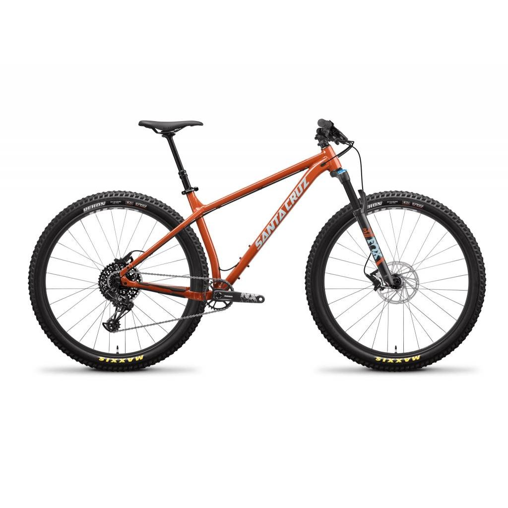 SANTA CRUZ  BICYCLES 2019 Santa Cruz Chameleon, 27.5, R Kit, Orange - Medium