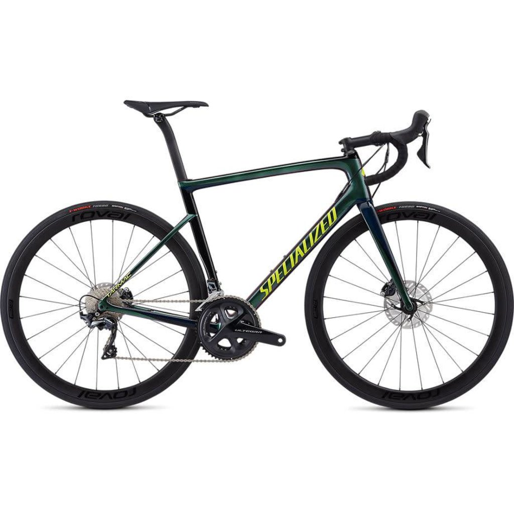 Specialized 2019 Specialized Tarmac Expert Disc, Green/Blue - 56cm