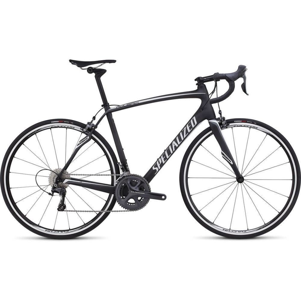 Specialized 2016 Specialized Roubaix SL4 Expert Carbon, White/Charcoal - 56cm
