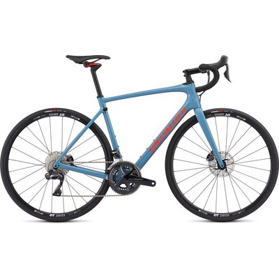 Specialized 2019 Specialized Roubaix Comp Di2, Gray/Red - 58cm