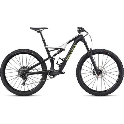 Specialized 2017 Specialized Stumpjumper FSR Expert Carbon, 29, White - Extra Large