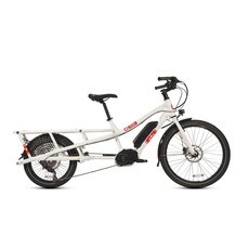 Yuba Bicycles LLC Yuba Spicy Curry Bosch Cargo Bike, White/Red