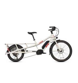 Yuba Bicycles LLC Yuba Spicy Curry Bosch Cargo Bike, White/Red