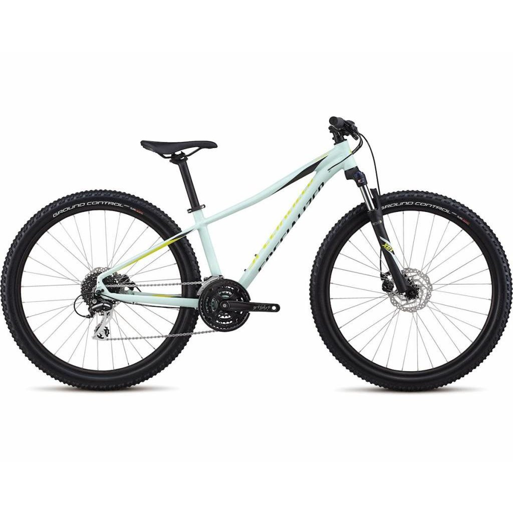 Specialized 2019 Specialized Pitch Sport, 27.5, White/Lime - Medium