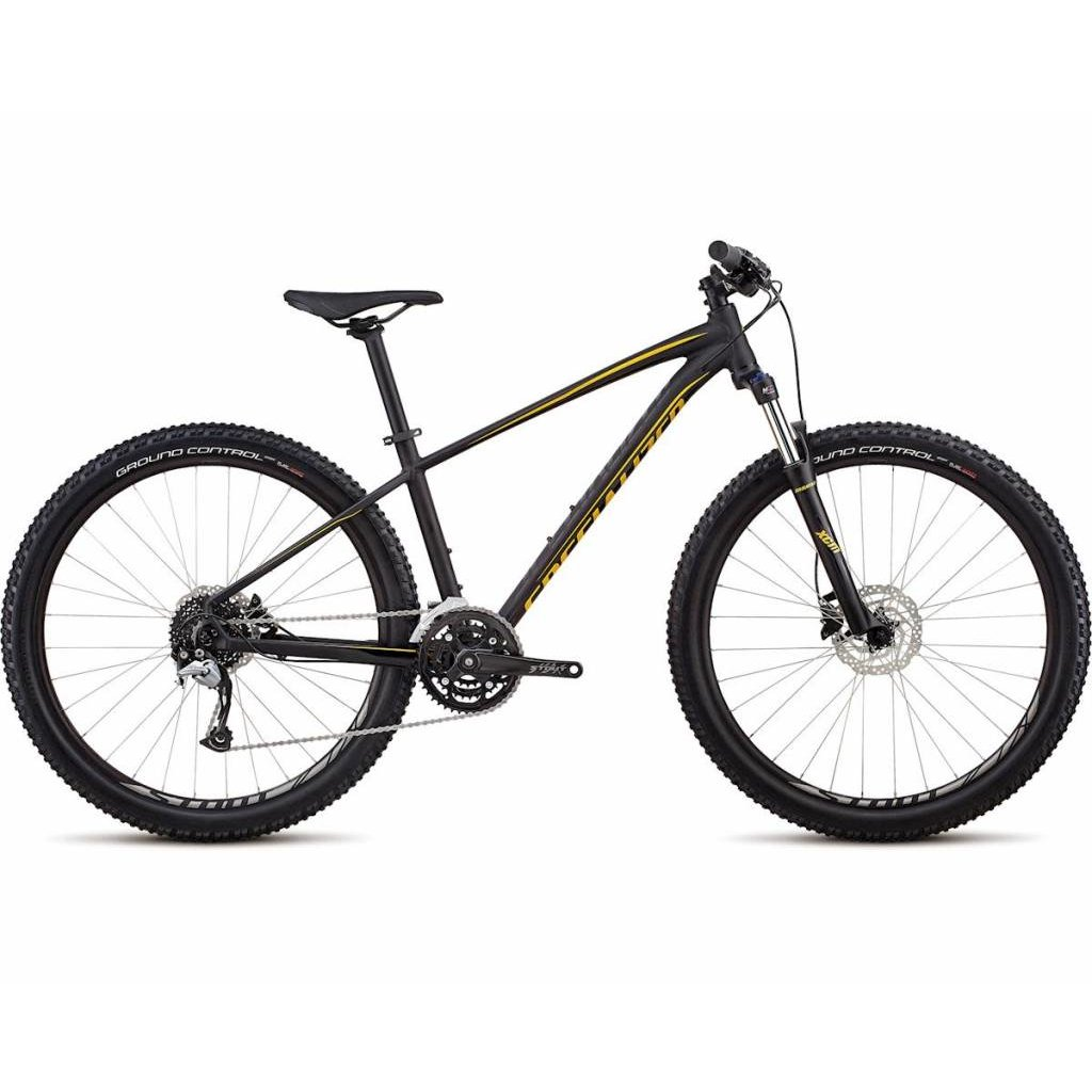 Specialized 2019 Specialized Pitch Comp, 27.5, Black/Gold - Extra Small