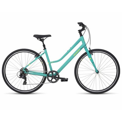 Specialized 2019 Specialized Alibi Step Through, Acid Mint/Powdered Coral - Small