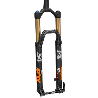 Fox Racing Shox 2018 FOX FORK  34, K, FLOAT, 29in, F-S, 140, 3Pos-Adj, FIT4, Matte Blk, Orange Logo, 15QRx110, 1.5 T, 51mm Rake, AM