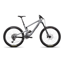 SANTA CRUZ  BICYCLES 2019 Santa Cruz Bronson CC, 27.5, XO1, Reserve - Gray
