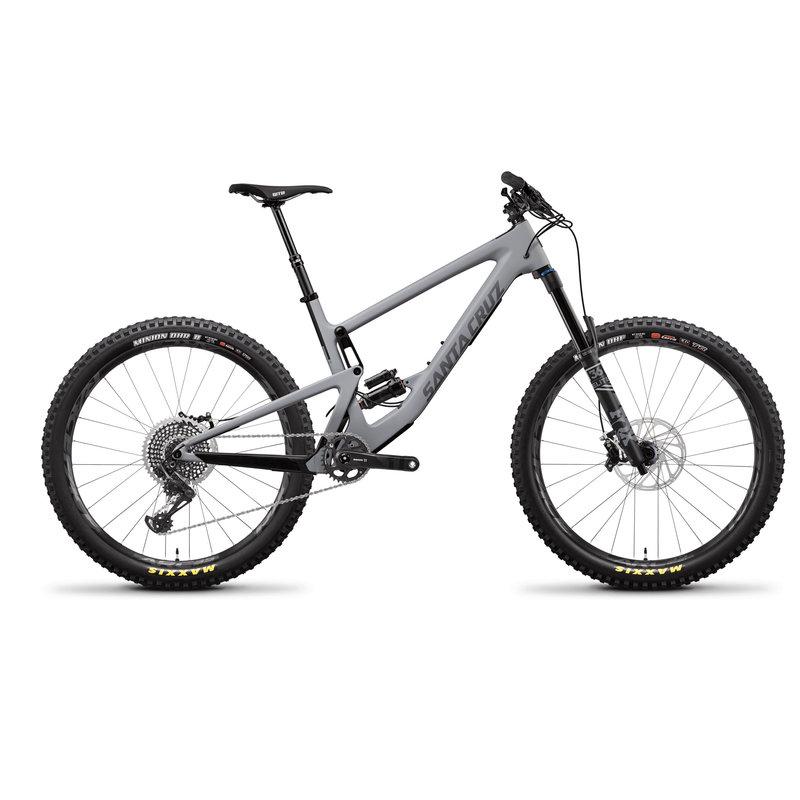 SANTA CRUZ  BICYCLES 2019 Santa Cruz Bronson CC, 27.5, XO1, Reserve - Gray
