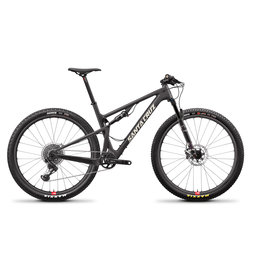 SANTA CRUZ  BICYCLES 2019 Santa Cruz Blur CC, 29, XO1 Trail, Reserve - Black
