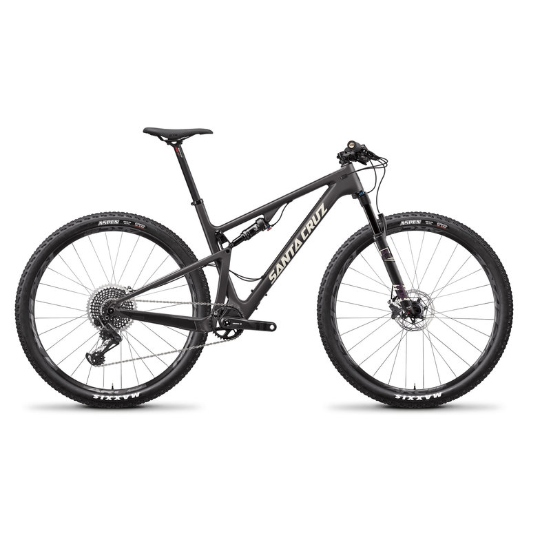 SANTA CRUZ  BICYCLES 2019 Santa Cruz Blur CC, 29, XO1 Trail, Matte Carbon
