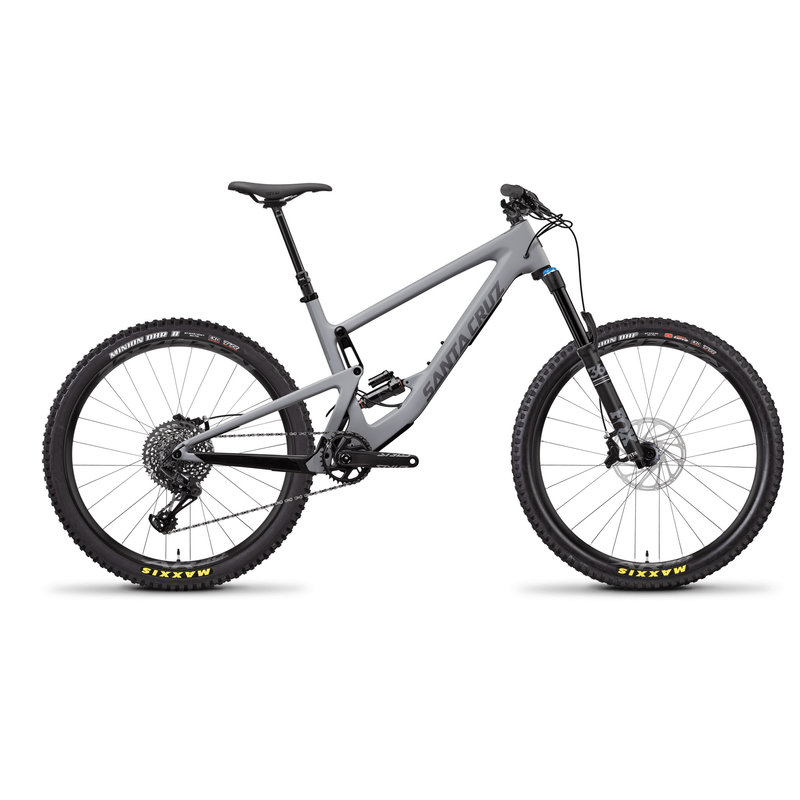 SANTA CRUZ  BICYCLES 2019 Santa Cruz Bronson C, 27.5, S-Kit, Gray