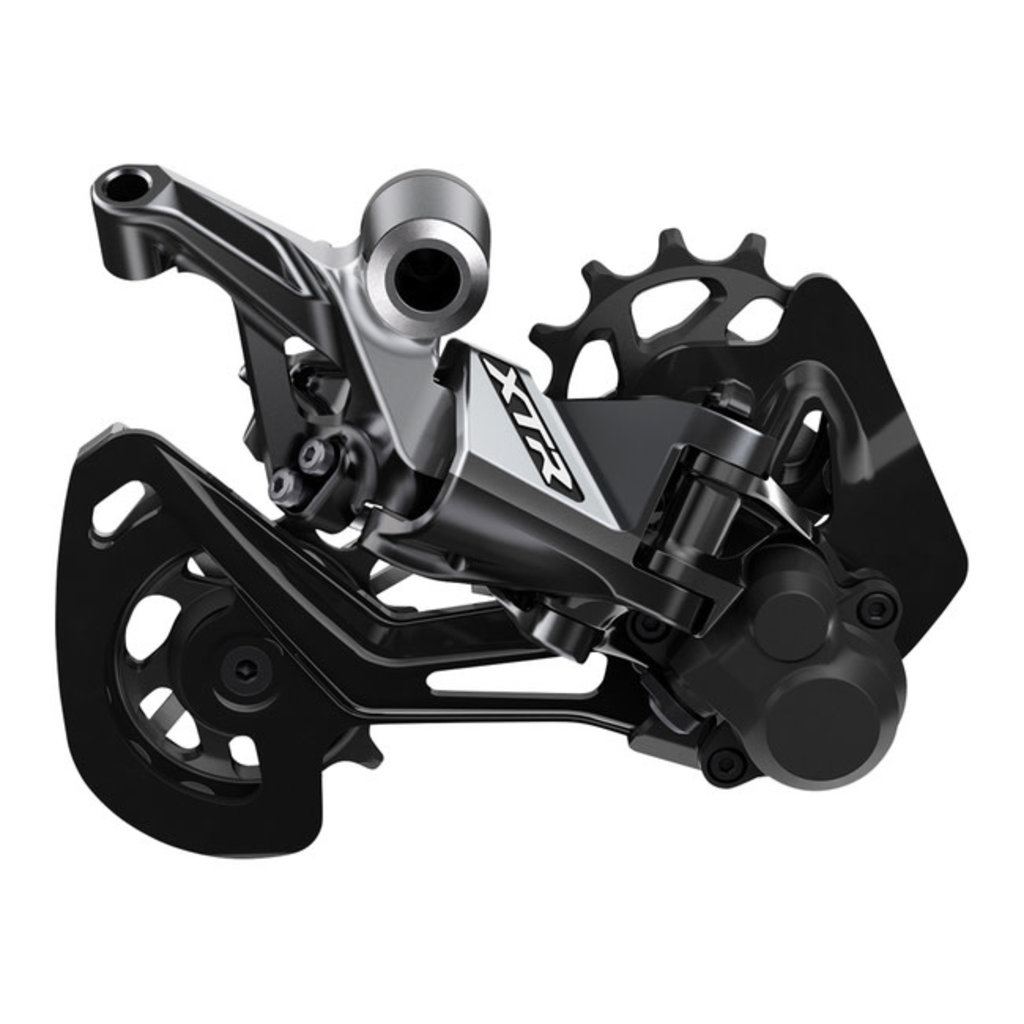 Shimano 2019 DERAILLEUR Shimano XTR RD-M9100-SGS Rear 12 Speed, Long Cage, Gray
