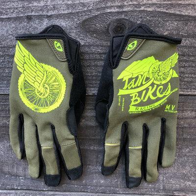Tam Bikes Zio Wheel Glove - Olive