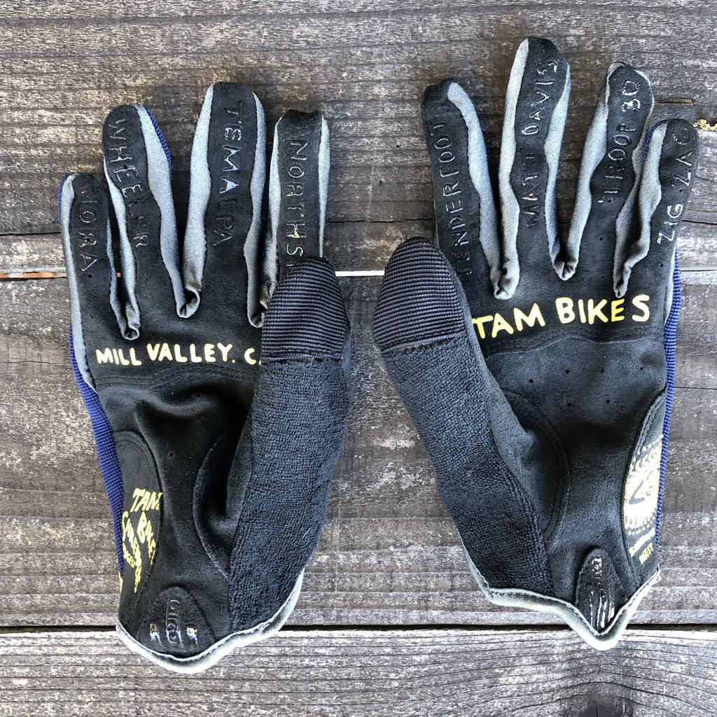 Tam Bikes Zio Wheel Glove - Blue