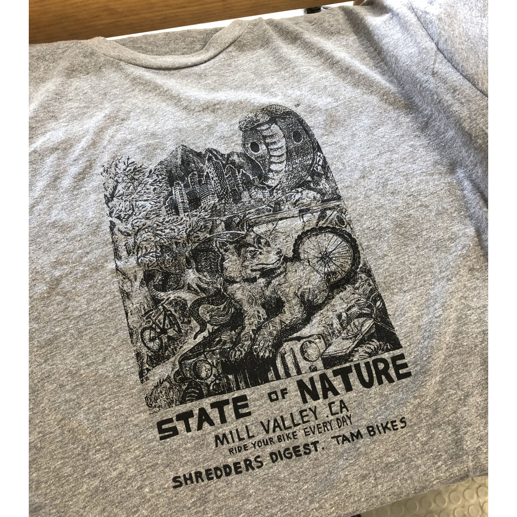 ZIO COLLECTION SPRING 2019 T-SHIRT STATE OF NATURE