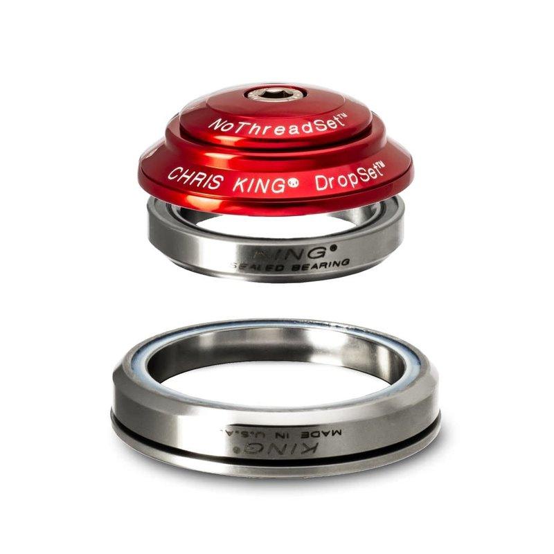 Chris King HEADSET Chris King DropSet 1 Headset, 41/52mm, Red