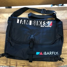 TAM BIKES BARFLY BAG MESSENGER DAILY STOWABLE BLK