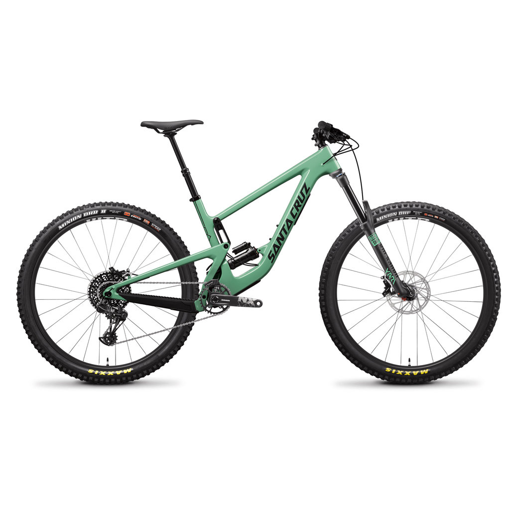 SANTA CRUZ  BICYCLES 2020 Santa Cruz MEGATOWER 1.0 CC XTR 29 XXL Reserve Wheels Green