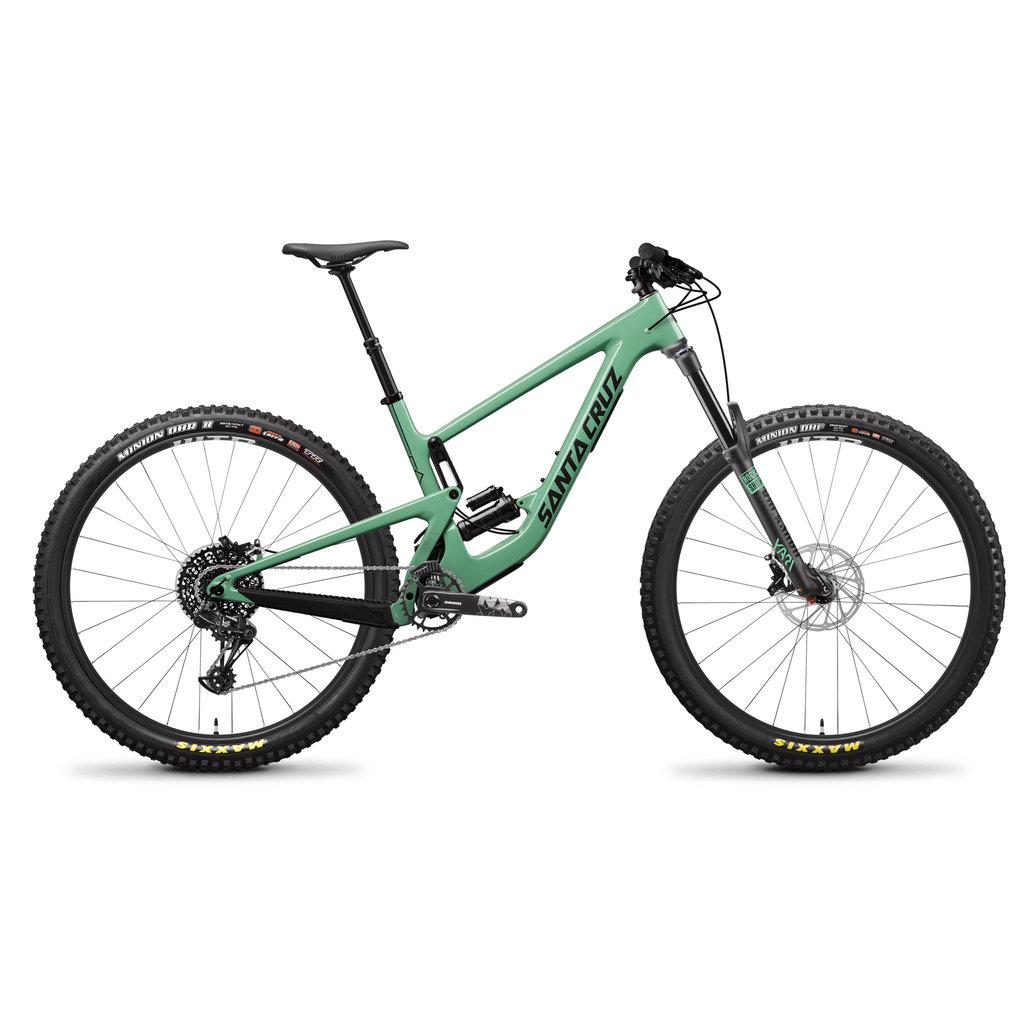 SANTA CRUZ  BICYCLES 2020 Santa Cruz MEGATOWER 1.0 CC XTR 29 XXL Reserve Wheels Green
