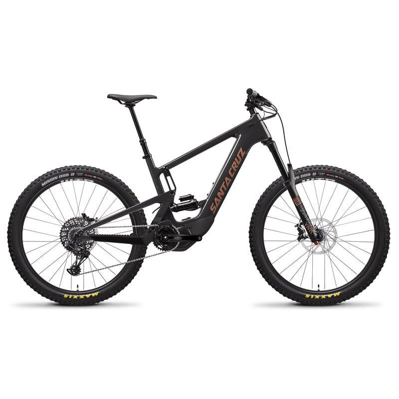 SANTA CRUZ  BICYCLES 2020 SANTA CRUZ SC HECKLER CC 27.5 S-KIT MD BLK
