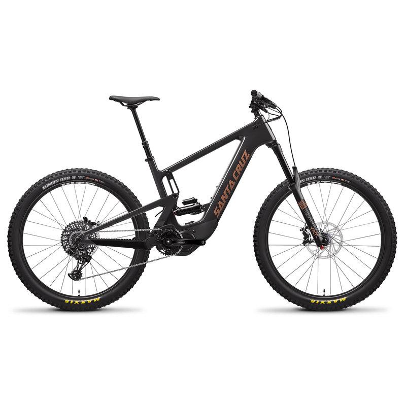 SANTA CRUZ  BICYCLES 2020 SANTA CRUZ SC HECKLER 1 CC 27.5 S-KIT SM BLK