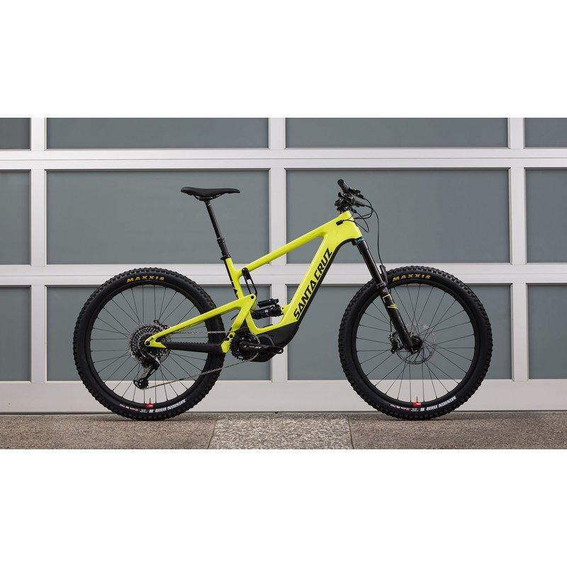 SANTA CRUZ  BICYCLES 2020 SANTA CRUZ SC HECKLER CC 27.5 XO1-KIT RSV MD YELLOW