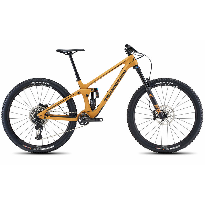 Transition Bikes 2021 TRANSITION SENTINEL CARBON GX LOAM GOLD MD