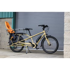 Yuba Bicycles LLC 2021 YUBA MUNDO ELECTRIC SHIMANO CARGO BIKE SAND