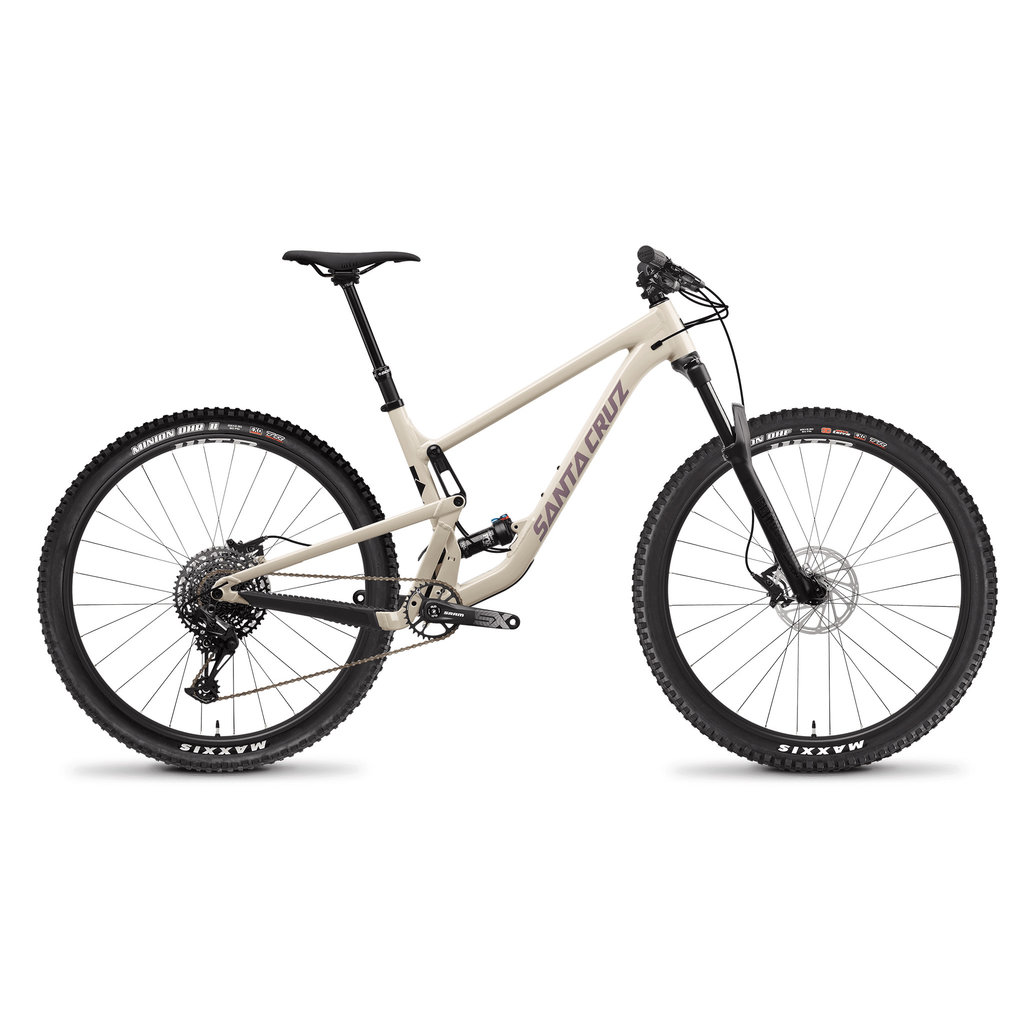 SANTA CRUZ  BICYCLES 2021 SANTA CRUZ SC Tallboy 4.0 C X01-Kit 29 LG IVORY RSV WHEELS