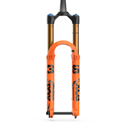 "FOX 36 Factory Suspension Fork - 27.5"", 160 mm, 15QR x 110 mm, 44 mm Offset, Shiny Orange, GRIP 2"