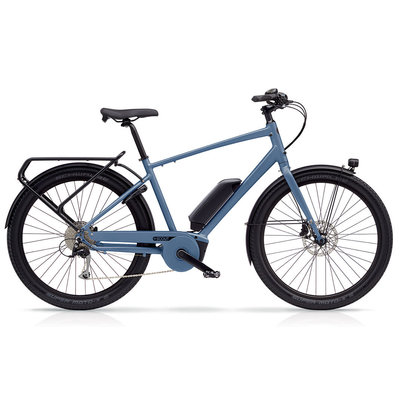 Benno EBIKE BENNO ESCOUT ACT PLUS/400W MENS ALASKA BLUE MD 2019