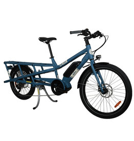 Yuba Bicycles LLC YUBA SPICY CURRY V3 CITY BOSCH CARGO BIKE BLUE