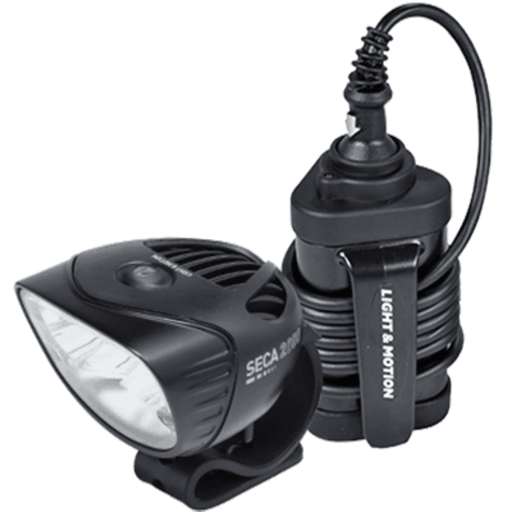 Light and Motion Seca Race 2000 corded