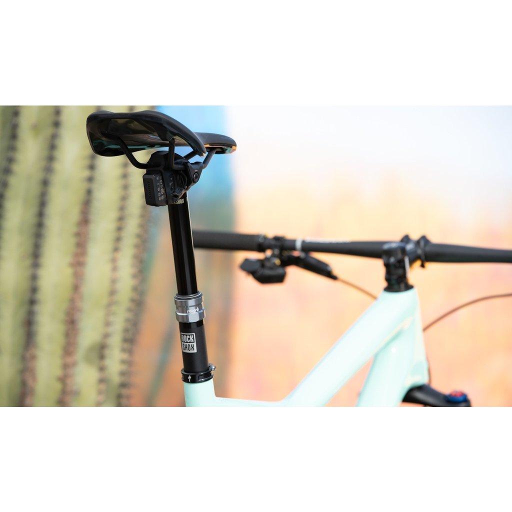 SEATPOST RockShox, Reverb AXS, Dropper Seatpost, 31.6mm, Travel: 170mm, Offset: 0mm, Remote: Left hand