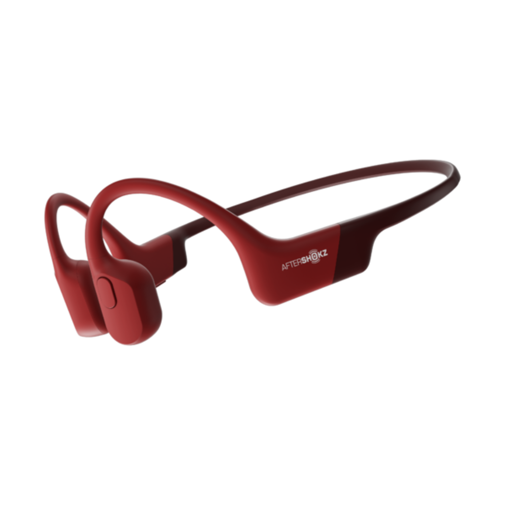 AFTERSHOKZ HEADPHONES AFTERSHOKZ AEROPEX SOLAR RED