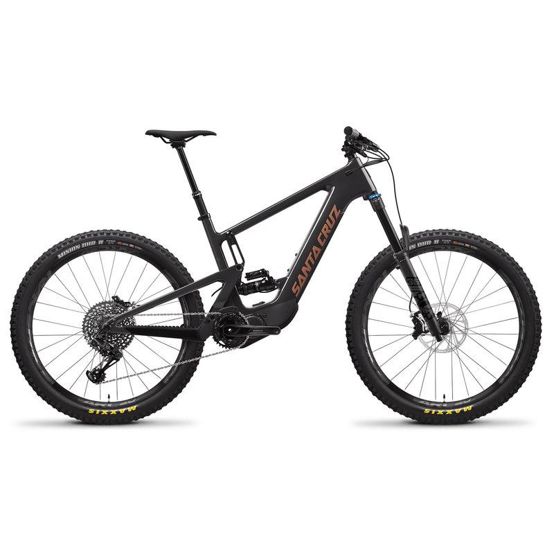 SANTA CRUZ  BICYCLES 2021 SANTA CRUZ  HECKLER 8 CC 27.5  S-KIT  BLK MD